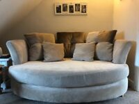 DFS cuddler sofa large