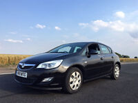 2011 Vauxhall Astra 1.6i Black Low Mileage FSH HPI Clear Not VXR GTC GOLF A3 S LINE BMW MERCEDES AMG