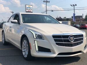 2014 Cadillac CTS 3.6L LUXURY+TOIT+AWD+COMME NEUF