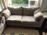 Next dove grey sofa