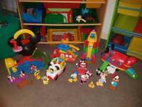 Mickey mouse jobs lot