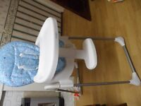 Baby Boy Highchair BabiesRUS excellent new condition .