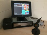 ★ Retail epos & Touchscreen Till PoS Great for Sweet, Discount Brand, Sporting, Phone, Repair Shop