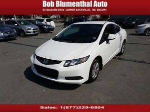 2013 Honda Civic LX 5-Speed w/ Bluetooth Cruise Heated Seats...