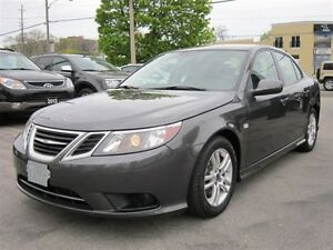 2011 Saab 9-3 2.0T/TURBO/6SPD/SUNROOF/LEATHER/42KMS!!!