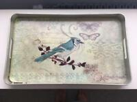 Brissi Bird Tray in Light Blue