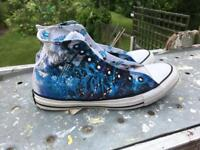 Limited edition converse all stars uk size 7