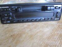 Car Stereo - Pioneer KEH-M7400RDS Head plus Pioneer Stack CD Unit