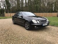 2004 MERCEDES E270 AVANTGARDE BLACK 6 SPEED MANUAL