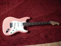 Aria stratocaster electric guitar £40