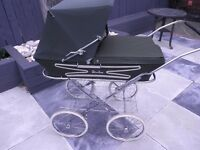 Retro Silver Cross Pram