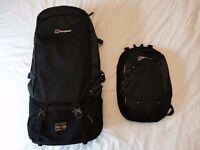 Mens Berghaus 85L Travel Rucksack / Backpack + Raincover