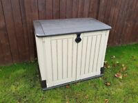 NEW KETER STORAGE STORE-IT-OUT MIDI FREE DELIVERY + ASSEMBLY