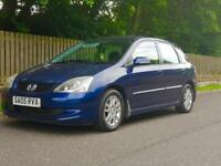 Honda Civic 1.6 EXECUTIVE, One Years MOT, Low Miles For A Honda, Year, Full Leather, Heated Seats