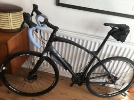 Giant Anyroad 1 Hybrid Cyclocross Bicycle Large 2015 Model Matt Black/ Charcoal