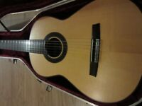 Left handed Hanika 60 PF NAT professional classical guitar