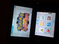 Nintendo 3DS Xl, pokemon x & pokemon omega ruby (broken shoulder button)