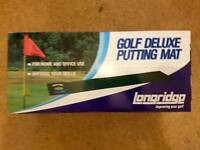 Brand new Golf Deluxe Putting Mat