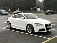 Audi TT TFSI S Line FACELIFT White - SatNav/leather