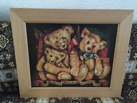 Bonnie Norman & Gilbert 1935 teddy bear picture for sale