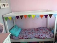Ikea toddler 4 poster bed