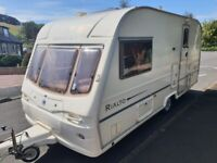 Immaculate condition Avondale Rialto 2 berth caravan with awning