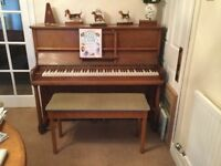Chappell piano and stool