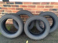 4x Goodride Snowmaster Winter tyres, 195/55 R15 89H for VW Polo