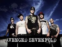 Avenged Sevenfold, Disturbed, In Flames - Tickets, O2 Arena Saturday 21st January 2017