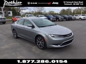 2016 Chrysler 200 C   FWD   LEATHER   SUNROOF   HEATED SEATED  