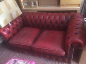 Sofa 2 Seater - Leather
