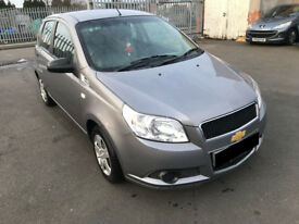 Chevrolet Aveo 1.2 S 5dr - 2009, ONLY 47K Miles, MOT Febuary 2019, New Clutch, 1 Prev Keeper, £1395