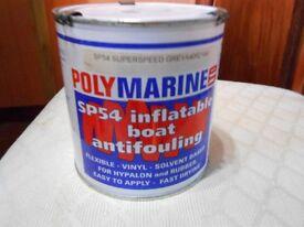 Inflatable - Hypalon antifoul 1 litre.
