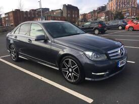Mercedes benz c220 2012 amg sport plus 7g automatic