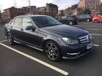 Mercedes benz c220 2012 amg sport plus 7g automatic