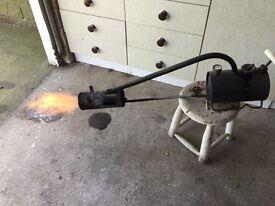 Sheen flame gun