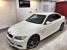 🌟🌟Immaculate 2008 BMW 320d M Sport Alpine White. FSH. Cruise. Low Tax. FINANCE & PX 🌟🌟