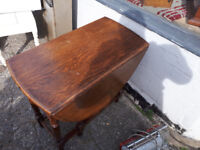OVAL DROP LEAF DINING TABLE IN YEOVIL