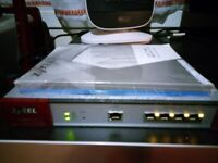 Firewall Internet Security Zyxel RRP £250 , can post, tested *Name A Price*