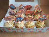 Bespoke cakes cupcakes sweet cones