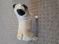 Beswick China Pug Dog