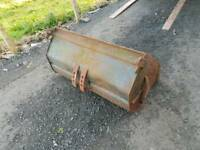 Tractor front loader 3ft3 bucket