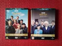 "TV ""BREAD"" SERIES 1-4 IN 2 X 3 DVD'S BOXSETS"