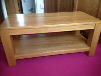 Oakland furniture solid oak coffee table for sale