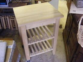 Butchers block as new never used