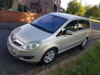 FULLY LOADED VAUXHALL ZAFIRA ELITE 1.7CDTI ECOFLEX (CHEAPER ROADTAX)