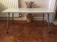 Retro Original Formica Coffee Table