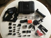 Go Pro 3 with over £250 worth of accessories!