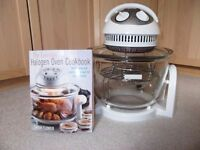 HALOGEN OVEN including recipe book