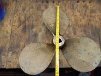 boat propeller for onboard engine